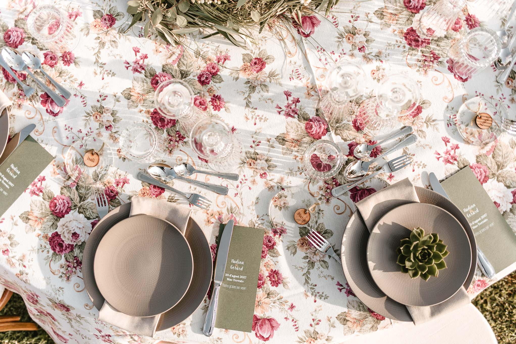 té-flatlay-café-wedding table- mesas de bodas