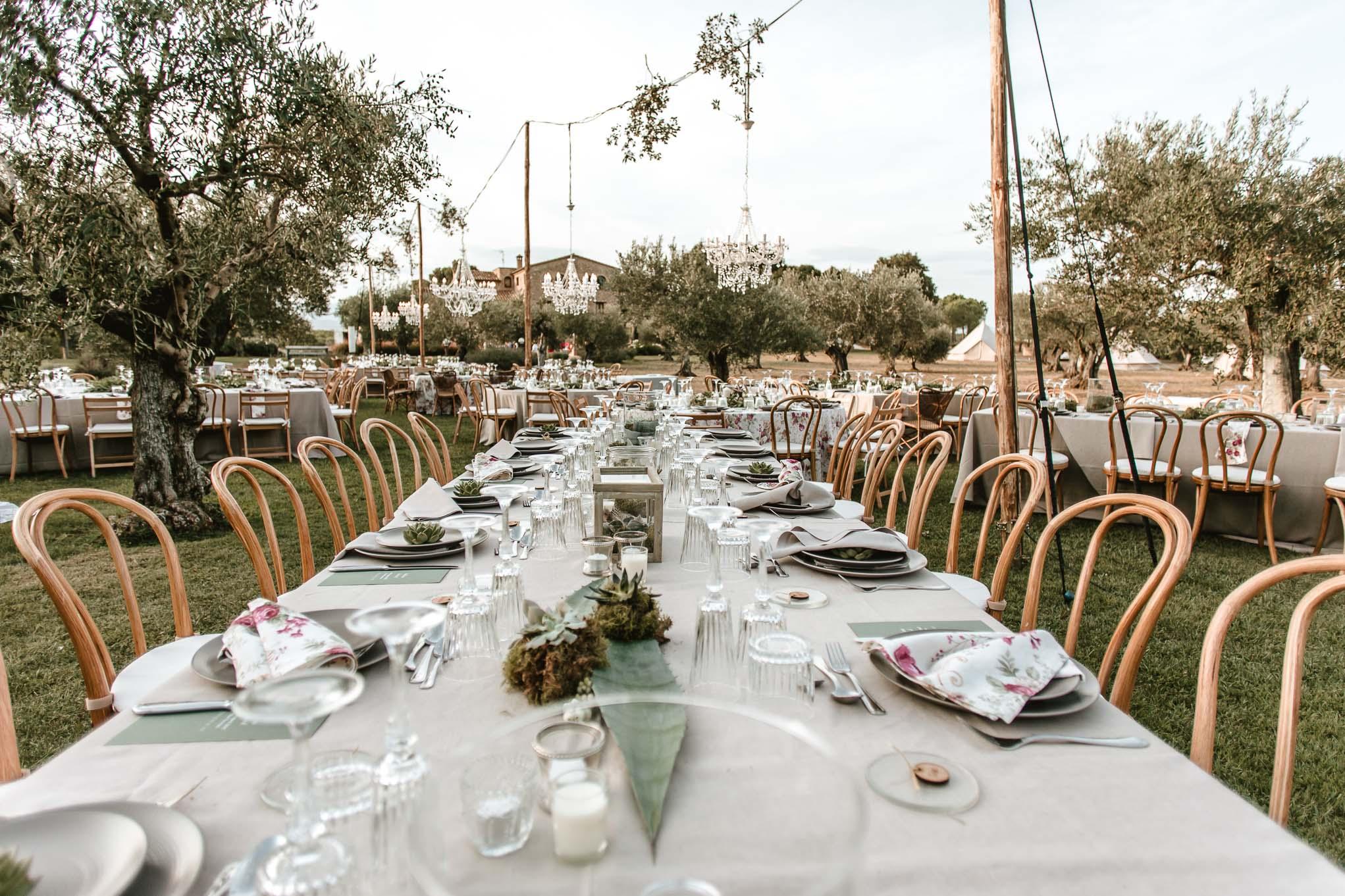 mesas de matrimonio-decoración de mesas