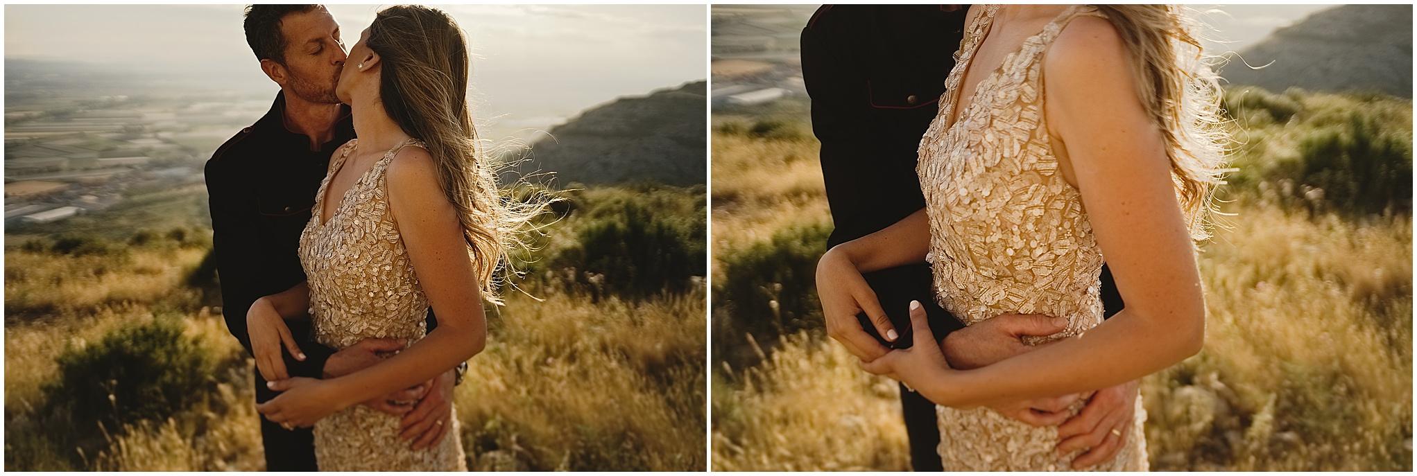 Melanie usó el segundo vestido de boda diseñado por Santos Costura