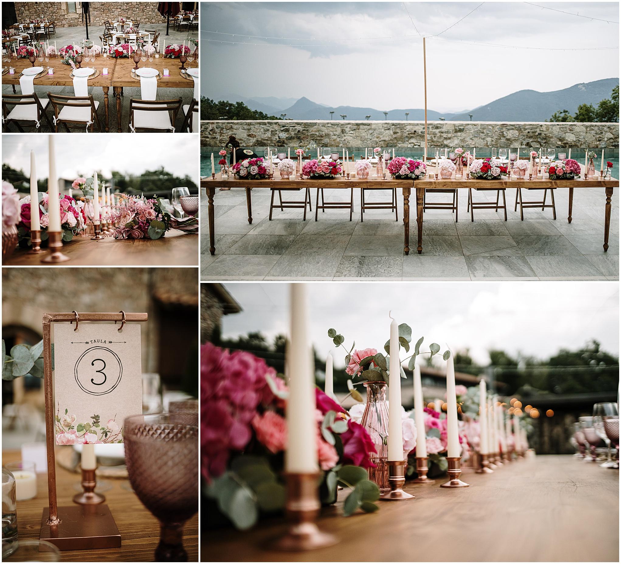 Flores para bodas en Girona y camprodón.