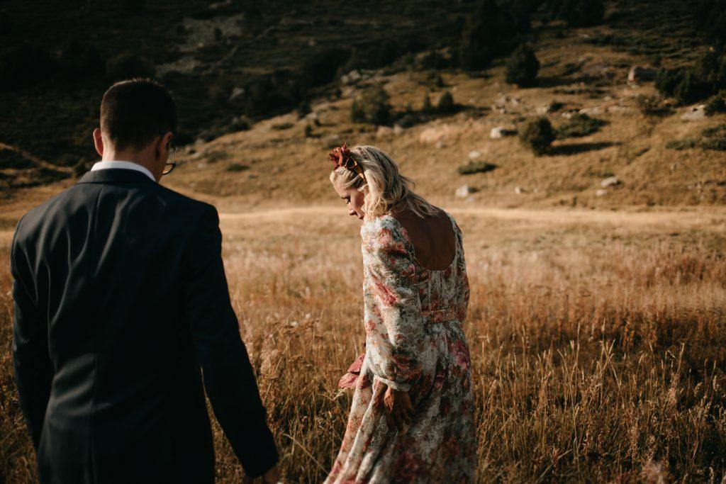 fotógrafo de bodas en Girona y Costa Brava, boda en las montañas de  Andorra
