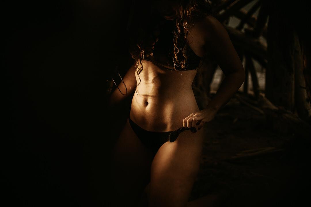 Fotografías sensuales no explícitas de mujeres