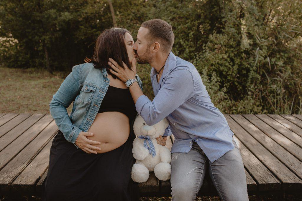 Fotos al aire libre de para embarazadas en la zona de Girona y Barcelona